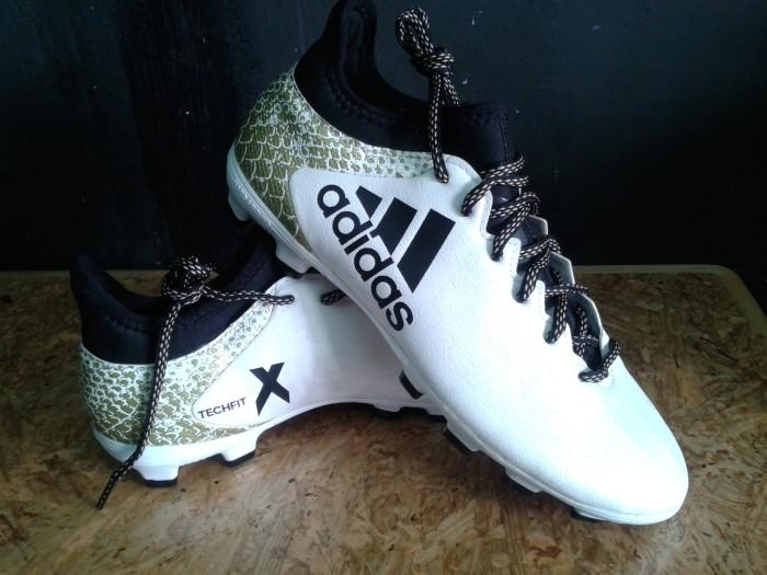 Jual Sepatu Bola Adidas X techfit 16.3 BNWB white putih original ... b0ee5a677