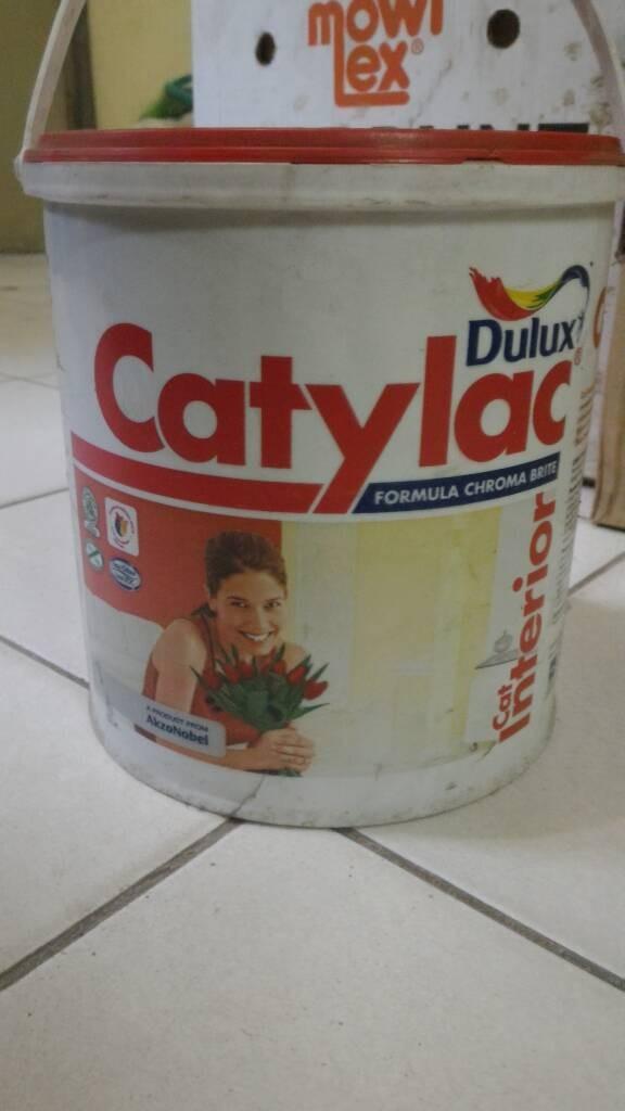 harga Cat tembok catylac (5 kg) Tokopedia.com