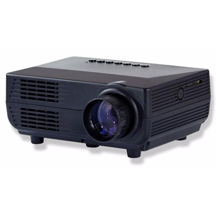 Mini portable projector led 60 lumens sd card & tv 480x320px - vs311