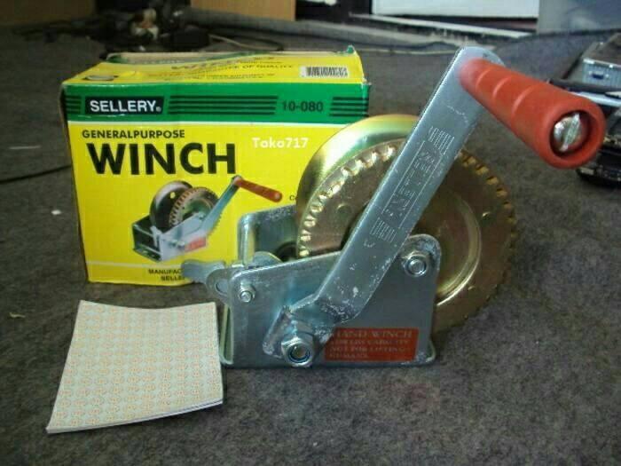 harga Hand winch 2500 lbs = 1133.9 kg katrol bagus Tokopedia.com