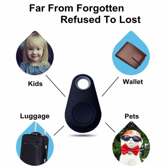Foto Produk itag anti lost key finder locator wallet finder bluetooth Shutter GPS - Hitam dari lbagstore