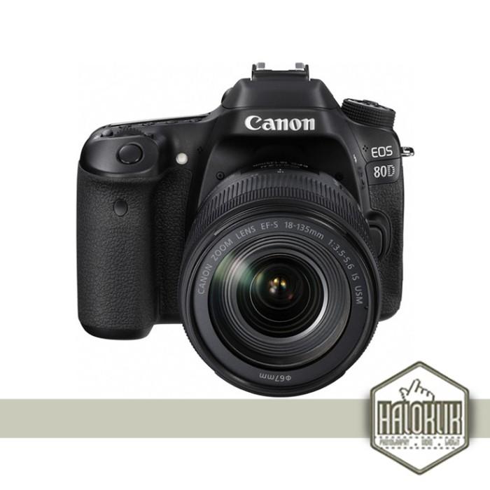 harga Canon eos 80d 18-135 18-135mm wifi (datascript) Tokopedia.com