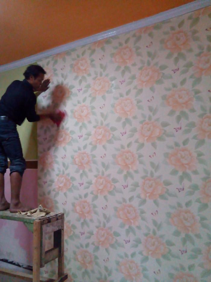Jual Wallpaper laris + Ongkos pasang gratis - Maju Jaya