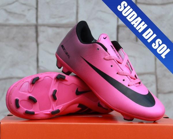 Jual sepatu bola Nike Mercurial Vapor IX Ungu Pink (terbaru 0cecaa818b