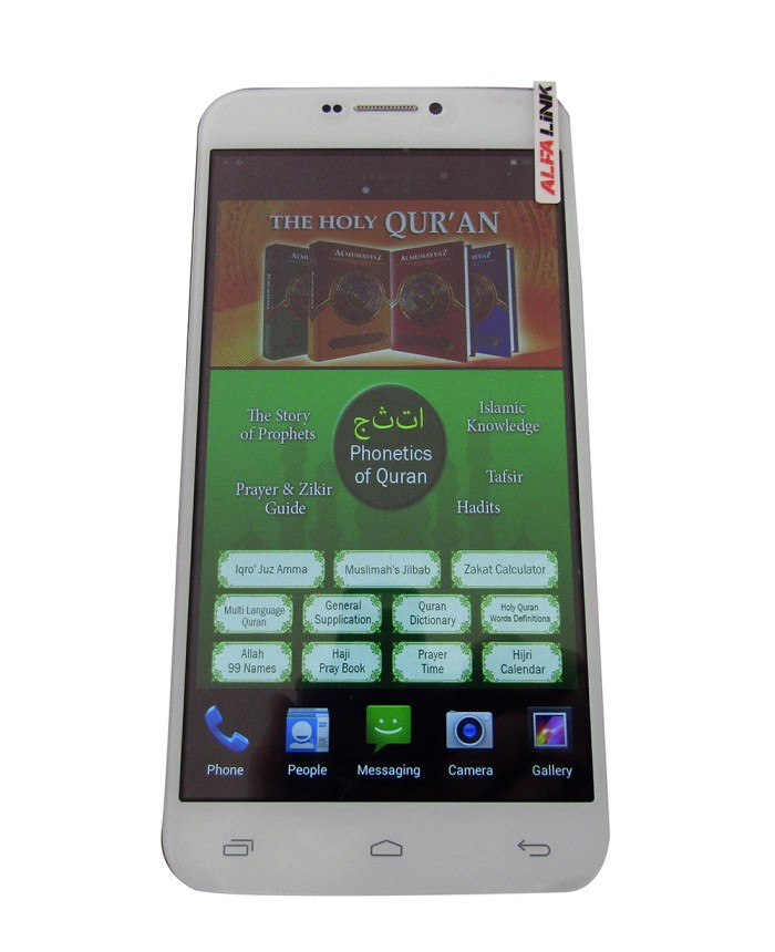 harga Alfalink language learning & qur'an phone qp-60 - putih Tokopedia.com