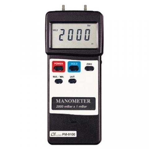 digital manometer. lutron pm-9100 digital manometer r