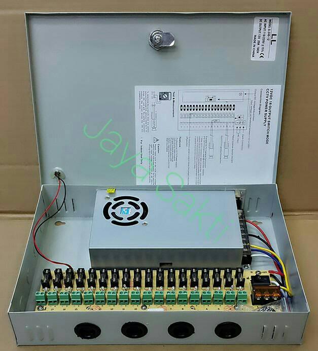 harga Cctv power supply panel box 12v-20a Tokopedia.com