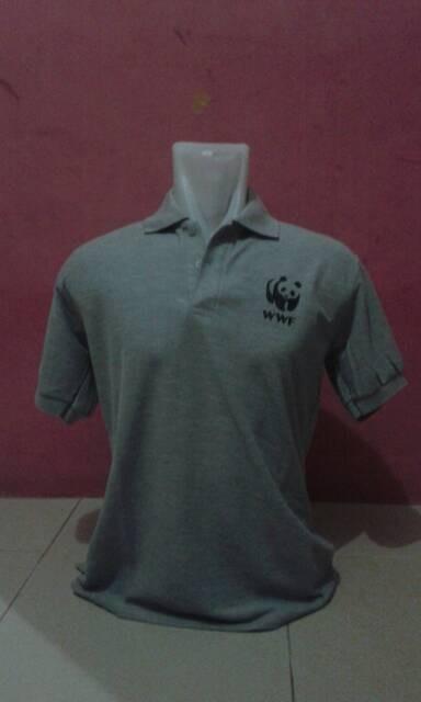 harga Kaoa polo wwf/baju wwf/polo shirt wwf/kaos kerah(outdoor) Tokopedia.com