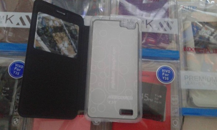 Pinto Electroplating Transparent Soft Silicone Tpu Case Case For Source · Flipcase View LC View Ume Untuk VIVO Y35
