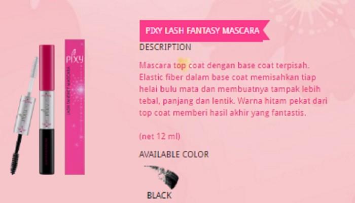 Katalog Maskara Pixy Travelbon.com