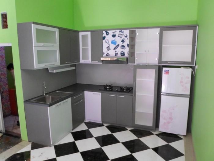 Jual Kitchen Set Bentuk Lurus Bentuk L Bentuk U Cv Kembangdjati