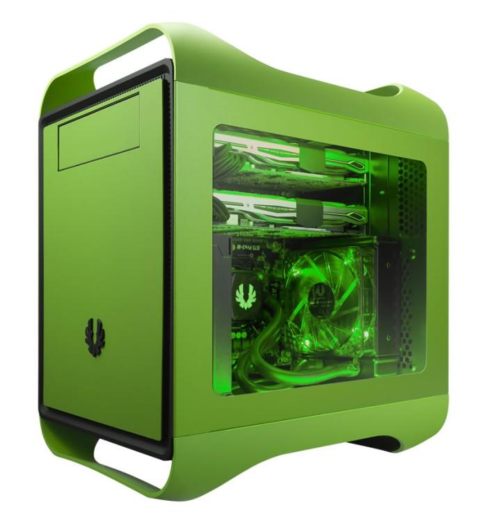 Foto Produk Bitfenix Prodigy M Window Green dari DextMall