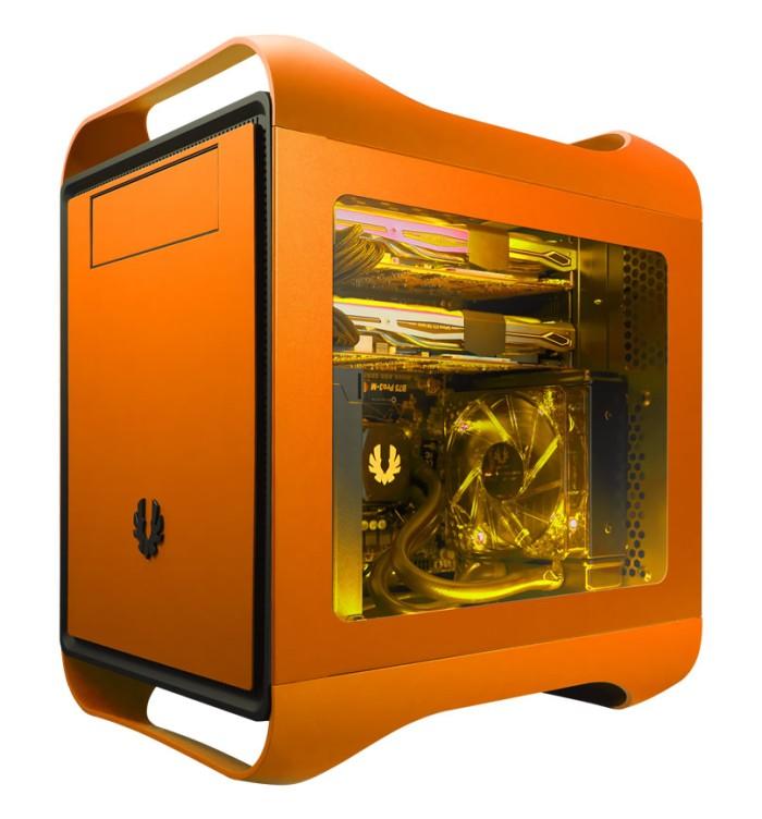 Foto Produk Bitfenix Prodigy M Window Orange dari DextMall