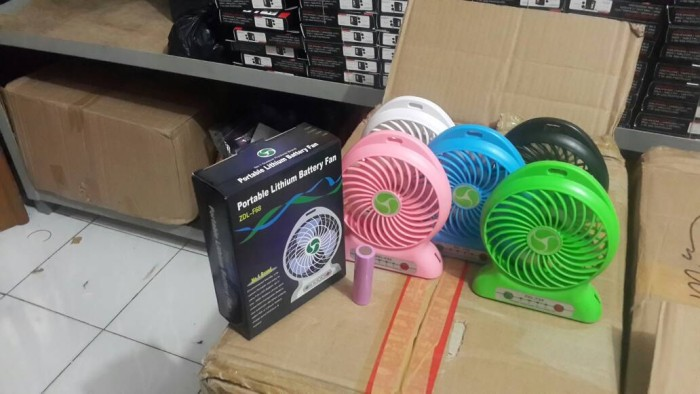 Foto Produk POWERBANK KIPAS POWER BANK KIPAS USB dari pelangi cell cipinang