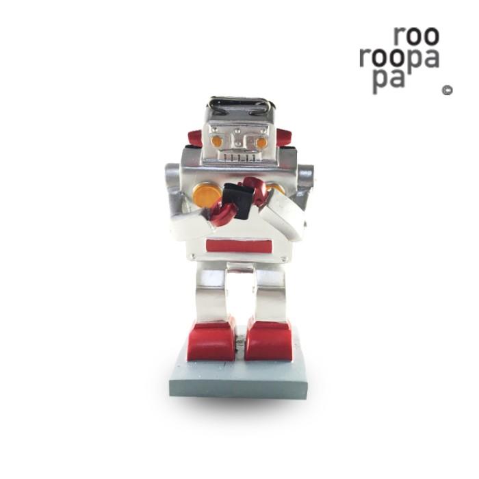 harga Handphone stander / vintage robot / hadiah ulang tahun / pajangan meja Tokopedia.com