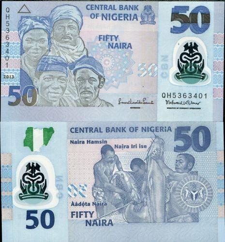 harga Uang koleksi  nigeria - 50 naira 2013 p 40  polymer unc . Tokopedia.com