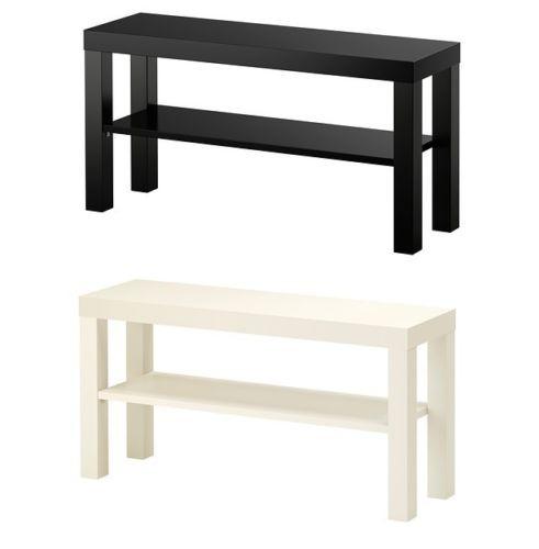 IKEA LACK Meja TV Minimalis | Putih Atau Hitam