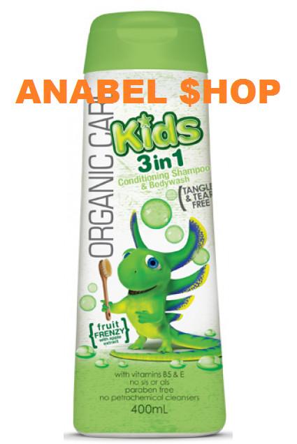 harga Organic care kids 3 in 1 400ml Tokopedia.com