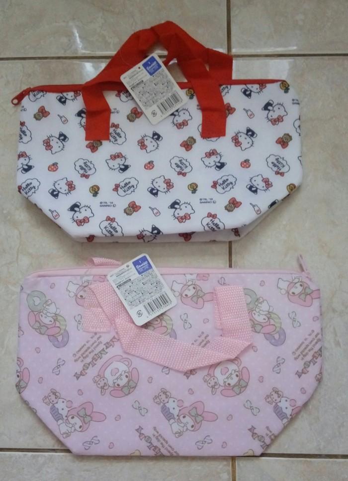 Jual Sanrio Portable Bag Hello Kitty / Aluminium Cooler