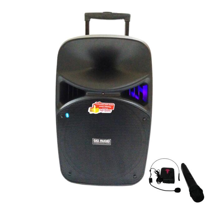 harga Gio audio sl17 - speaker portable wireless pa system 15 Tokopedia.com