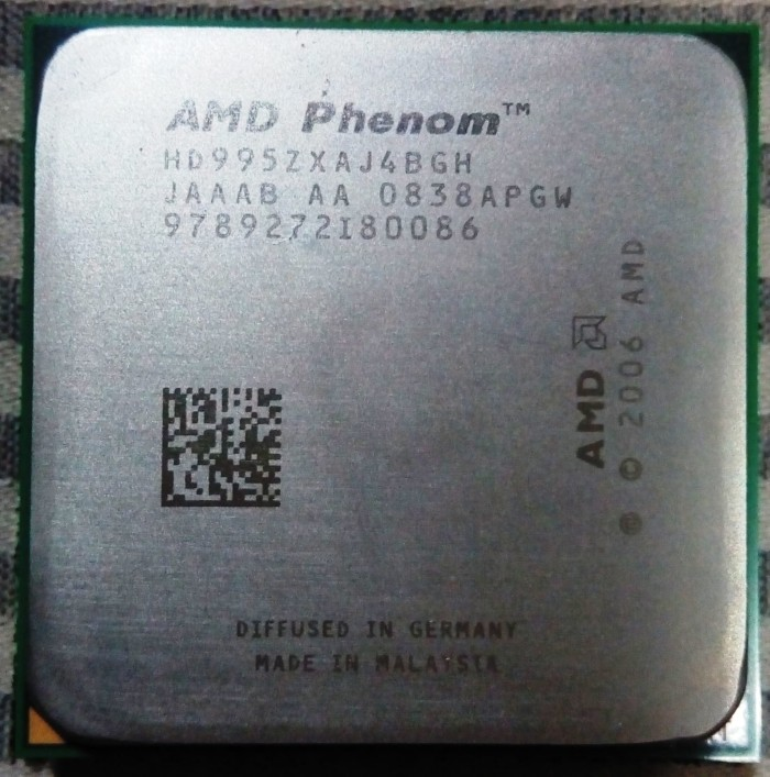amd phenom 9950 black edition