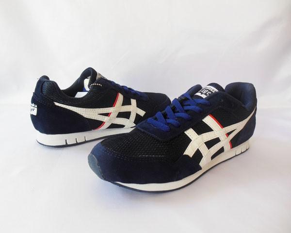 super popular b374d a5a53 Jual Sepatu Running Pria/Asics Onitsuka Tiger Navy Blue/ - Kota Bandar  Lampung - Horas Sports | Tokopedia