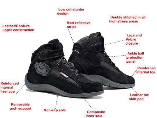 Jual Jual Sepatu Motor SIDI Doha model casual berkesan santai sehari ... 216a8f76ff