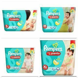 harga Pampers Dry Pants S36 M30 L26 S 36 M 30 L 26 Tokopedia.com