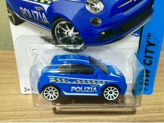 Jual Hot Wheels Fiat 500 Polizia Factory Sealed Kab Tangerang Hotwheels Junkyard Tokopedia