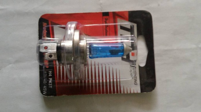 harga Aksesoris motor variasi bohlam lampu hologen tdh biru Tokopedia.com