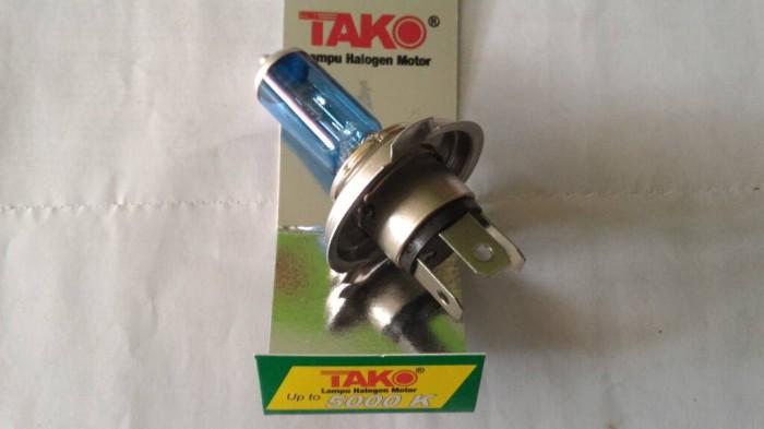 harga Aksesoris motor variasi bohlam lampu hologen tako biru Tokopedia.com