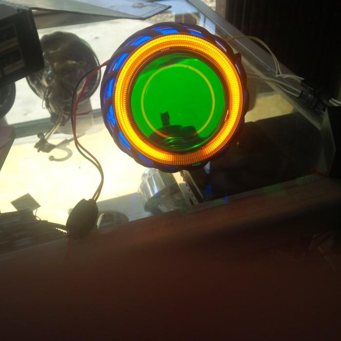 Projector AES HID Tipe X1 Komplit / AES 8 Motor