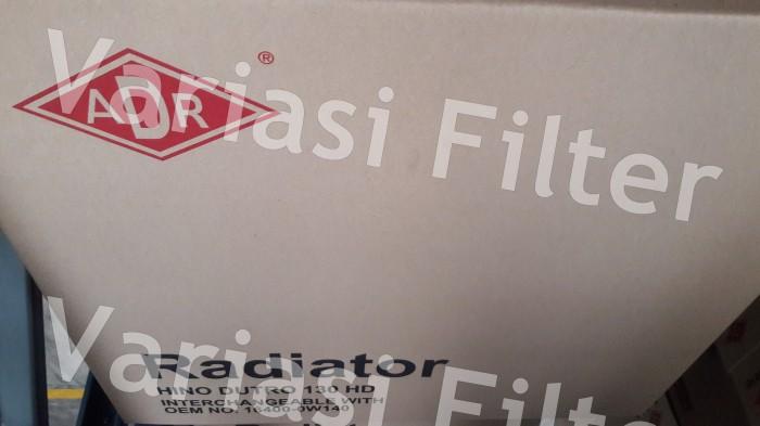 Radiator Hino Dutro 130HD / 130 HD- Bahan Tembaga Kuningan