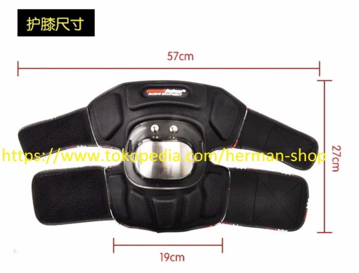(mini jumbo size) DECKER MAD BIKE BESI MINI JUMBO(Siku & Lutut)madbike