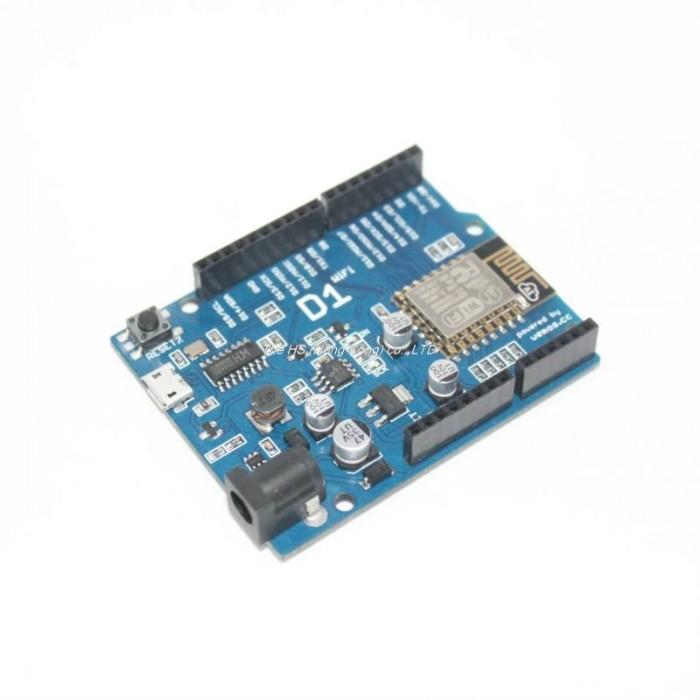 Foto Produk WeMos D1 Wifi ESP8266 ESP-12E Arduino UNO Based Shield dari DA Electronics