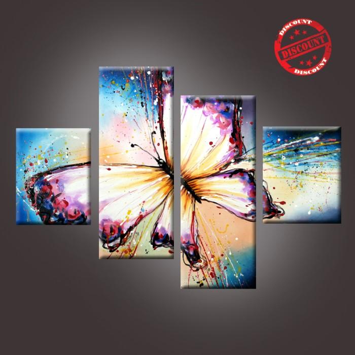 harga Lukisan kupu mini purple Tokopedia.com