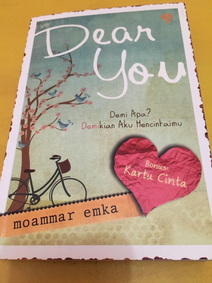 Novel Dear You Moammar Emka Pdf
