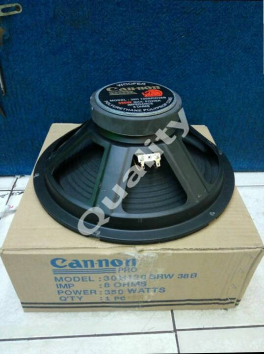 harga Speaker woofer canon 12 inch 350 watt Tokopedia.com