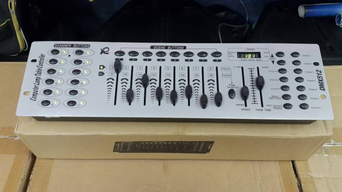 harga Mixer lighting dmx 512 Tokopedia.com
