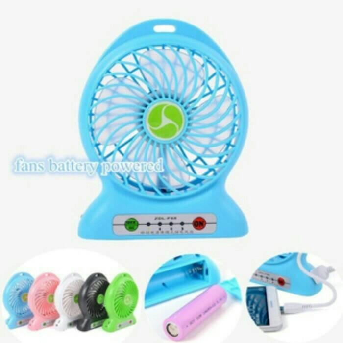 harga Kipas angin portable + power bank 2 ini 1 Tokopedia.com