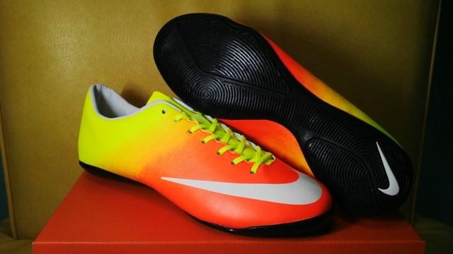 Jual Nike Mercurial Vapor X Sunset  Sepatu Futsal   Replika Import ... a02f1b5169