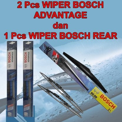 harga Wiper bosch advantage x-trail 07-14 3pcs (kn-kr dan blkg) original Tokopedia.com
