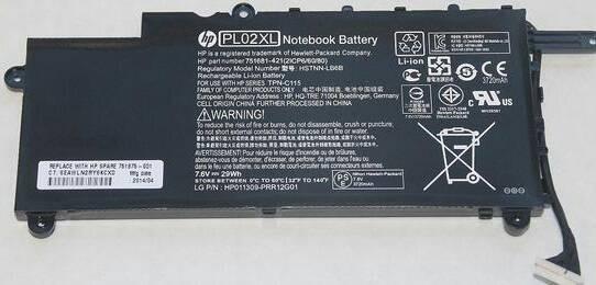 harga Baterai original hp pavilion 11-n x360 751875-001 pl02xl Tokopedia.com