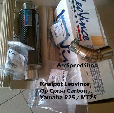 harga Knalpot leovince gp corsa (only silencer) universal original Tokopedia.com