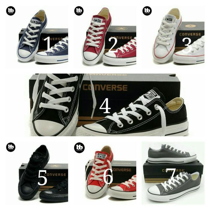Sepatu Sekolah Converse All Star Pendek Grade Original Cewek dan Cowok 2f7cb5d24d