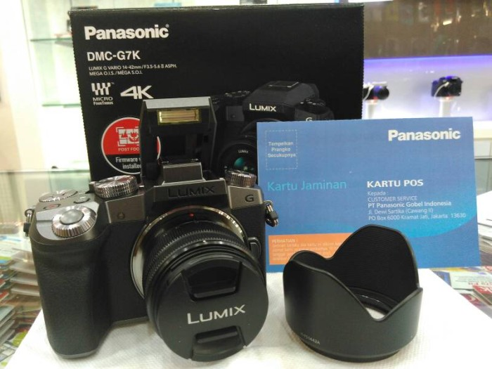harga Panasonic lumix dmc - g7k kit 14-42mm Tokopedia.com