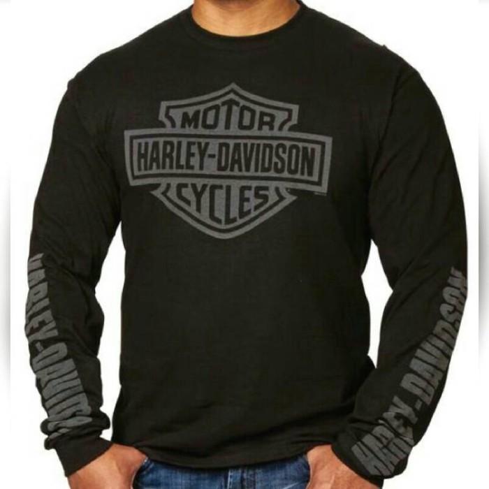kaos/tshirt/baju/lengan panjang/longsleve harley davidson