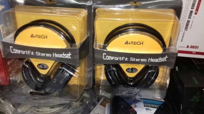 Katalog A4tech Hs 30 Headset Travelbon.com