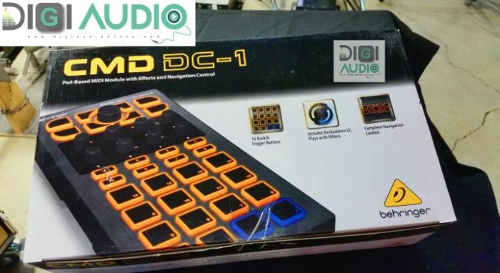 harga Behringer cmd dc-1 [ dc 1 ] dj controller Tokopedia.com