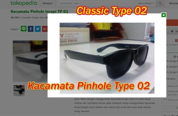Jual Kacamata Pinhole Tipe 02 Plus Terapi Mata Rabun Jauh Dekat ... e49f3fed5b